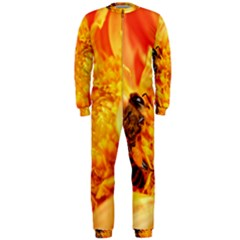 Honey Bee Takes Nectar Onepiece Jumpsuit (men)