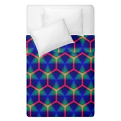 Honeycomb Fractal Art Duvet Cover Double Side (single Size) by Nexatart
