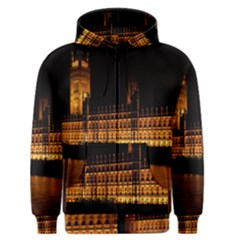 Houses Of Parliament Men s Zipper Hoodie