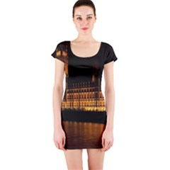 Houses Of Parliament Short Sleeve Bodycon Dress by Nexatart