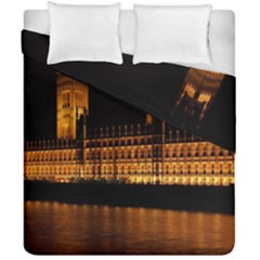 Houses Of Parliament Duvet Cover Double Side (california King Size) by Nexatart