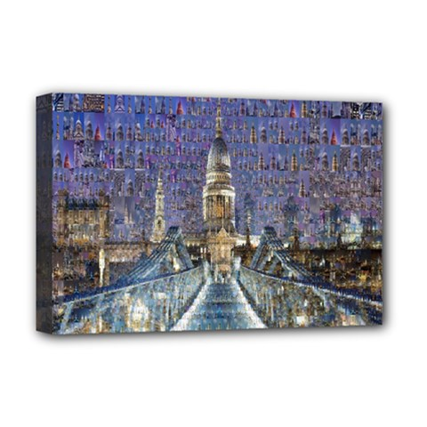 London Travel Deluxe Canvas 18  X 12