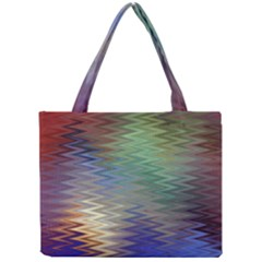Metallizer Art Glass Mini Tote Bag