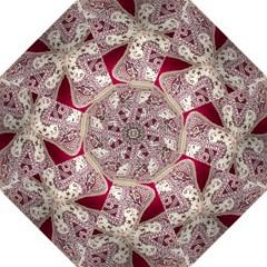 Morocco Motif Pattern Travel Hook Handle Umbrellas (medium) by Nexatart