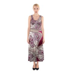 Morocco Motif Pattern Travel Sleeveless Maxi Dress by Nexatart