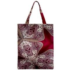 Morocco Motif Pattern Travel Zipper Classic Tote Bag