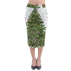 New Year S Eve New Year S Day Midi Pencil Skirt by Nexatart
