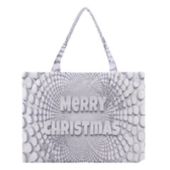 Oints Circle Christmas Merry Medium Tote Bag