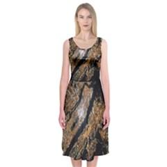 Night View Midi Sleeveless Dress by Nexatart
