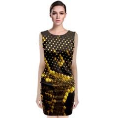 Pattern Skins Snakes Classic Sleeveless Midi Dress