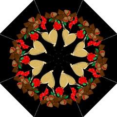 Valentine s Day Design Straight Umbrellas by Valentinaart