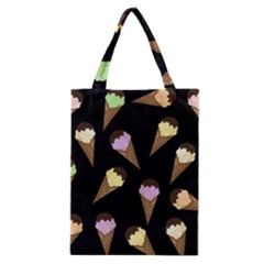 Ice Cream Cute Pattern Classic Tote Bag by Valentinaart