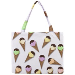 Ice Cream Pattern Mini Tote Bag by Valentinaart