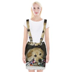 3 Puppy Yl Suspender Skirt by TailWags