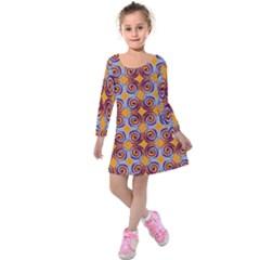 Nightmare Kids  Long Sleeve Velvet Dress by CannyMittsDesigns