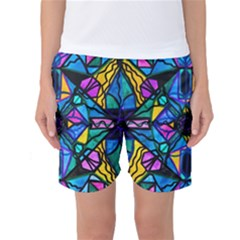 Dopamine - Women s Basketball Shorts by tealswan