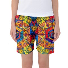 Excitement   Women s Basketball Shorts by tealswan