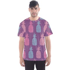 Pineapple Pattern  Men s Sport Mesh Tee by Nexatart