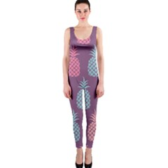 Pineapple Pattern  Onepiece Catsuit by Nexatart