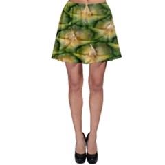 Pineapple Pattern Skater Skirt by Nexatart