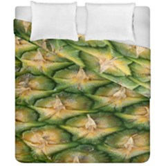 Pineapple Pattern Duvet Cover Double Side (california King Size) by Nexatart