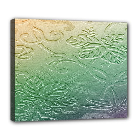Plants Nature Botanical Botany Deluxe Canvas 24  X 20   by Nexatart