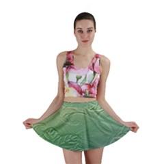 Plants Nature Botanical Botany Mini Skirt