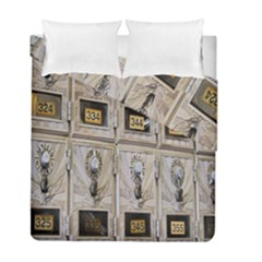 Post Office Old Vintage Building Duvet Cover Double Side (full/ Double Size)