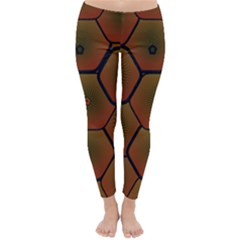 Psychedelic Pattern Classic Winter Leggings