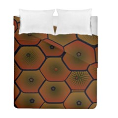 Psychedelic Pattern Duvet Cover Double Side (Full/ Double Size) by Nexatart