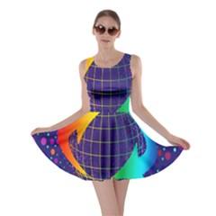 Recycling Arrows Circuit Skater Dress