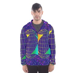 Recycling Arrows Circuit Hooded Wind Breaker (men) by Nexatart