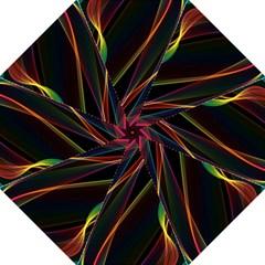 Rainbow Ribbons Straight Umbrellas