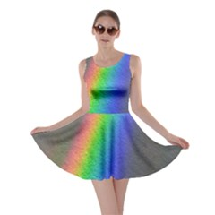Rainbow Color Spectrum Solar Mirror Skater Dress