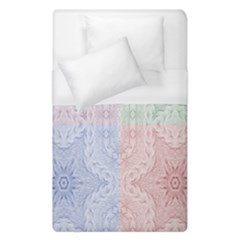 Seamless Kaleidoscope Patterns In Different Colors Based On Real Knitting Pattern Duvet Cover (single Size) by Nexatart