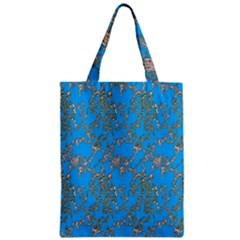 Seamless Pattern Background Seamless Zipper Classic Tote Bag by Nexatart