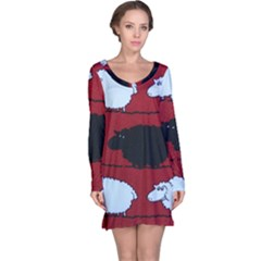 Sheep Long Sleeve Nightdress