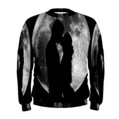 Silhouette Of Lovers Men s Sweatshirt