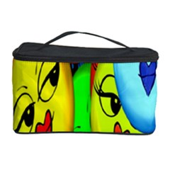 Smiley Girl Lesbian Community Cosmetic Storage Case by Nexatart