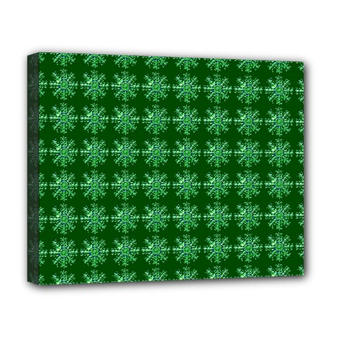 Snowflakes Square Deluxe Canvas 20  X 16