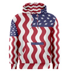 American Flag Men s Pullover Hoodie by OneStopGiftShop