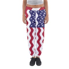 American Flag Women s Jogger Sweatpants by OneStopGiftShop