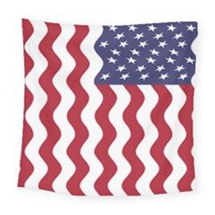 American Flag Square Tapestry (large) by OneStopGiftShop