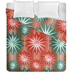 Star Pattern  Duvet Cover Double Side (california King Size) by Nexatart