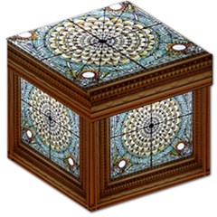 Stained Glass Window Library Of Congress Storage Stool 12