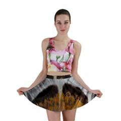Spring Bird Feather Turkey Feather Mini Skirt