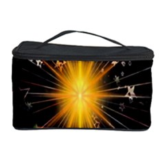 Star Christmas Advent Decoration Cosmetic Storage Case by Nexatart