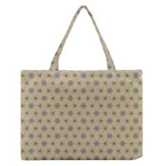 Star Basket Pattern Basket Pattern Medium Zipper Tote Bag by Nexatart
