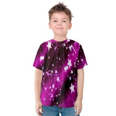 Star Christmas Sky Abstract Advent Kids  Cotton Tee
