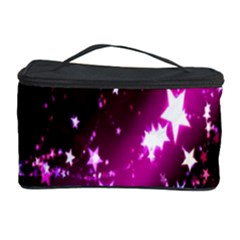 Star Christmas Sky Abstract Advent Cosmetic Storage Case by Nexatart